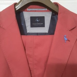 Tailorbyrd Sport Coat and Pants - Nantucket Red